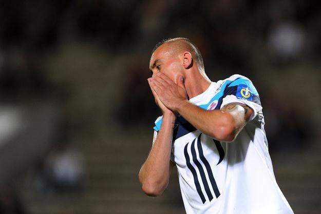 Ireneusz Jeleń zagrał 11 minut w meczu Lille, a jego drużyna wygrała 2-0 /AFP