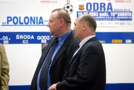 Ireneusz Serwotka (z prawej). Fot. Tomasz Markowski. /Agencja Przegląd Sportowy