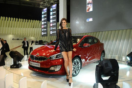 Irina Shayk na premierze Kii Pro_cee'd
