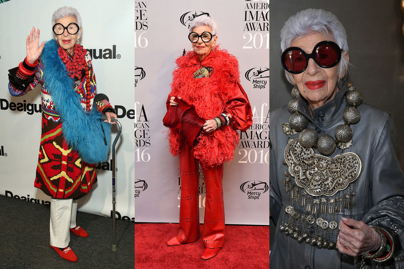Iris Apfel /Getty Images