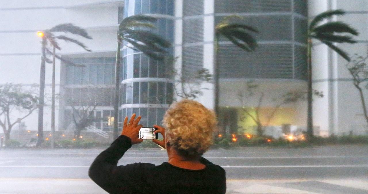 Irma uderza we Florydę
