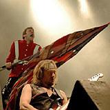 Iron Maiden na scenie w Chorzowie /Katarzyna Zaremba