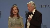 Isabelle Huppert ze Złotym Globem