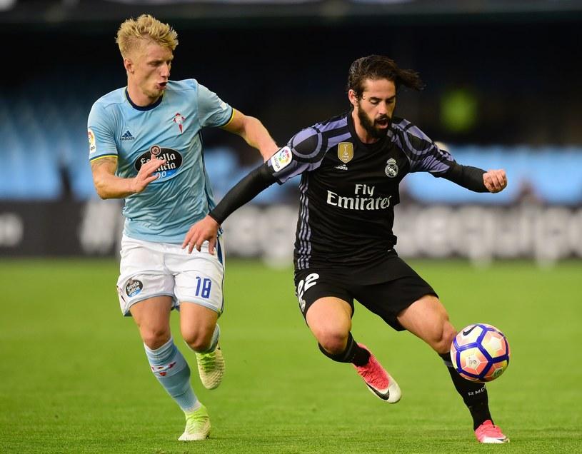 Isco (z prawej) będzie języczkiem u wagi meczu Malaga - Real /AFP