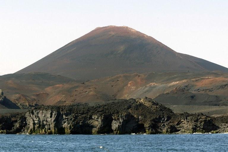 Islandzki wulkan Hekla /AFP