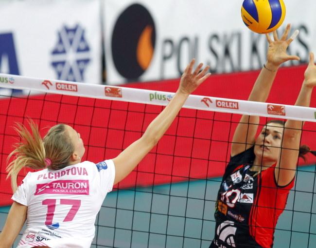 Ivana Plchotova (z lewej) z Dąbrowy Górniczej /Andrzej Grygiel /PAP