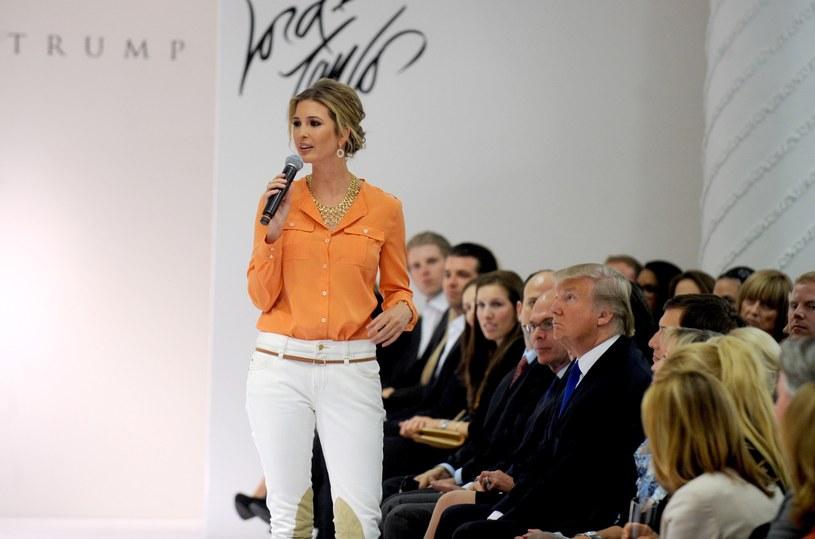Ivanka Trump prezentuje swoją kolekcję /Photoshot    /Reporter