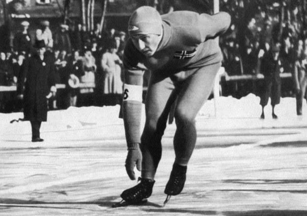 Ivar Ballangrud zdobył cztery medale na niemieckich igrzyskach. /AFP