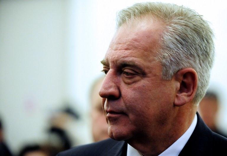 Ivo Sanaders, były premier Chorwacji /STRINGER / AFP /AFP