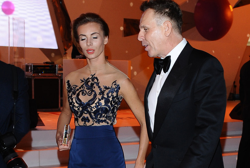Izabela Janachowska z mężem /Andras Szilagyi /MWMedia