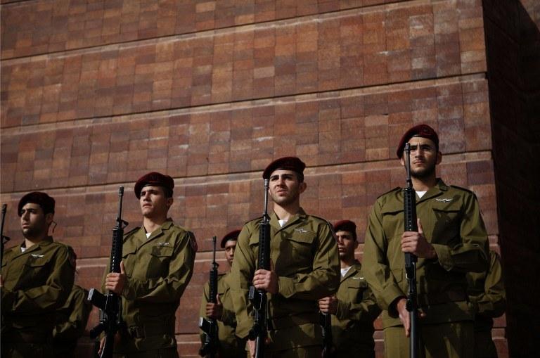 Izraelscy żołnierze /AFP