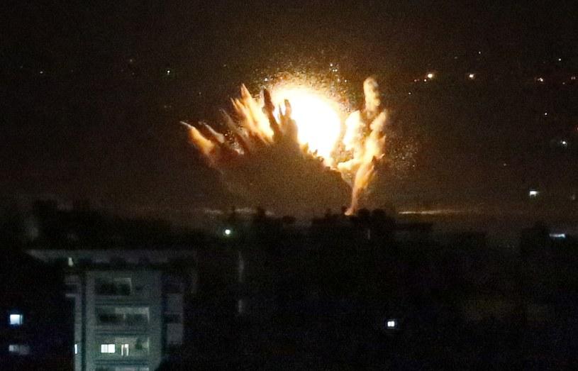Izraelska armia rozpoczęła kolejne bombardowania Strefy Gazy /AFP