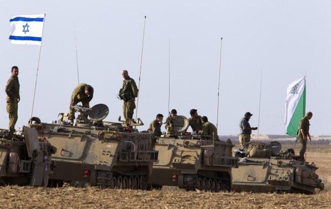 Izraelska armia /JIM HOLLANDER    /PAP/EPA