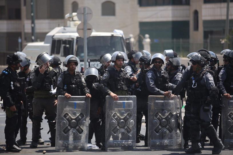 Izraelska policja /ABIR SULTAN /PAP/EPA