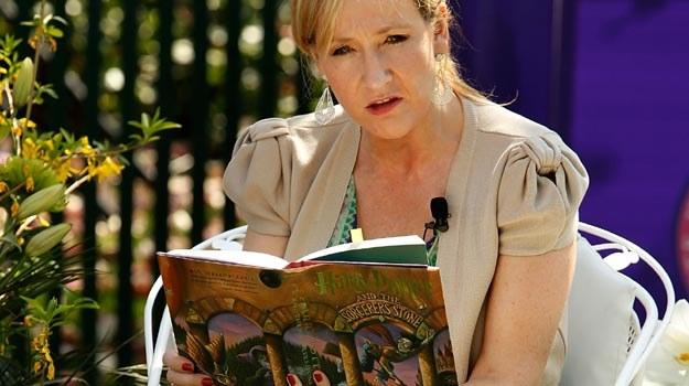 J.K. Rowling na razie czyta, ale być może znów napisze książkę o Potterze - fot. Chip Somodevilla /Getty Images/Flash Press Media