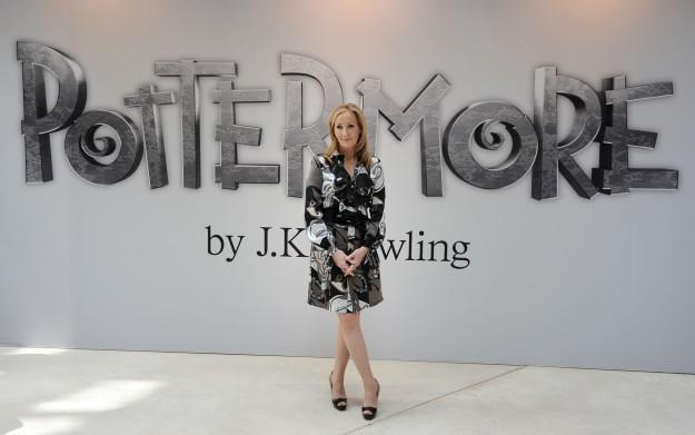 J.K. Rowling - zdjęcie /AFP