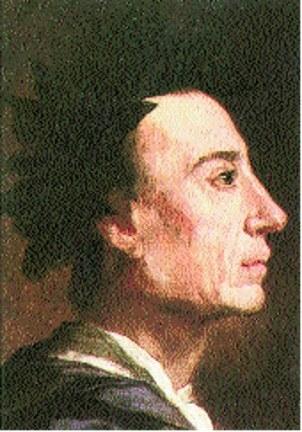 J. Richardson, Alexander Pope, fragment portretu /Encyklopedia Internautica