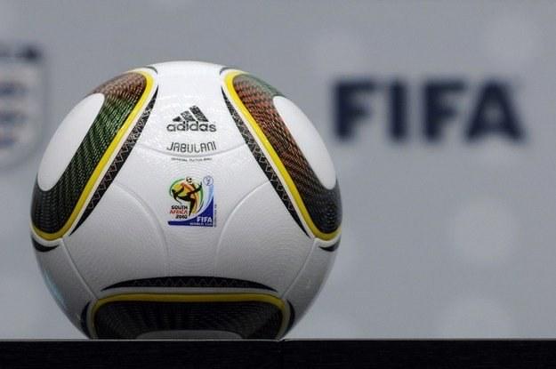 Jabulani, oficjalna piłka mistrzostw świata w RPA /AFP
