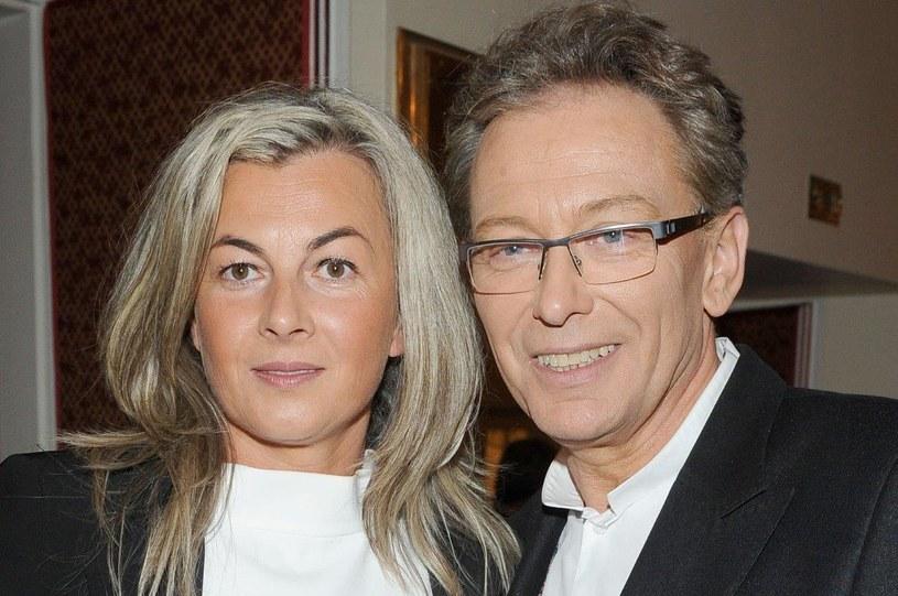 Jacek Borkowski z żoną /Agencja W. Impact