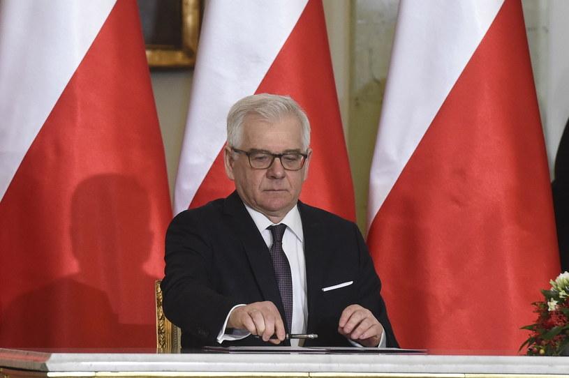 Jacek Czaputowicz /Radek Pietruszka /PAP