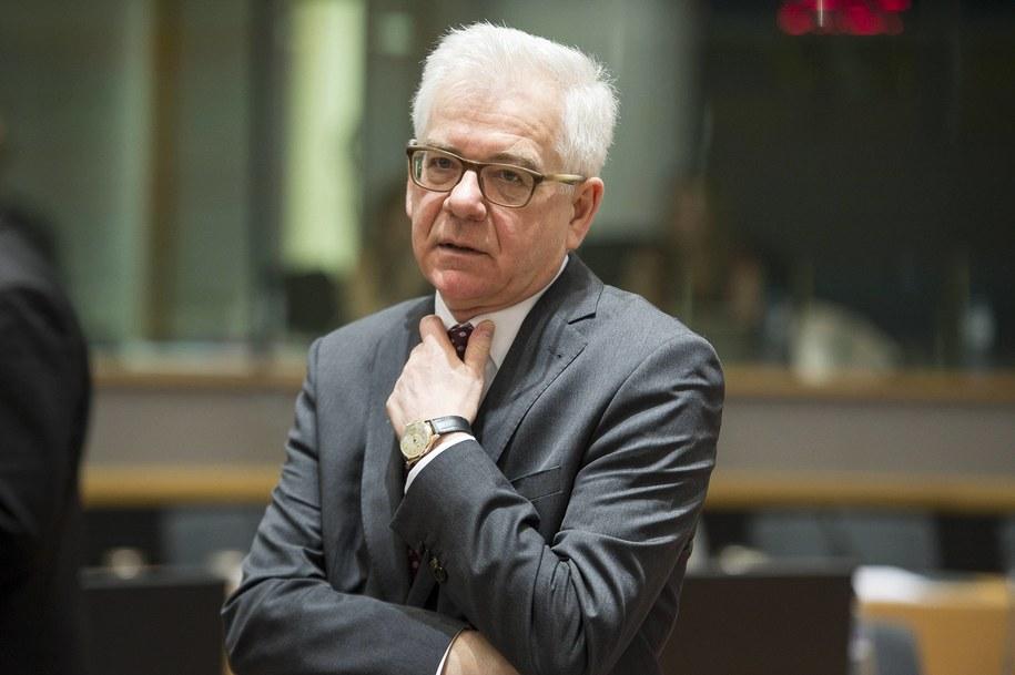 Jacek Czaputowicz /Wiktor Dabkowski    /PAP