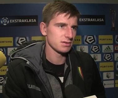 Jacek Kiełb po meczu z Legią Warszawa. Wideo
