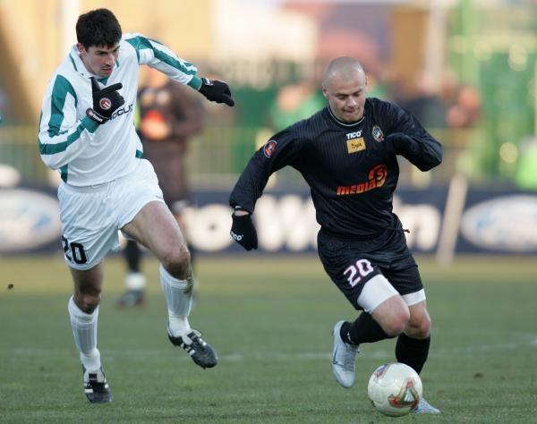 Jacek Kosmalski (z prawej) odejdzie z Polonii/fot. Łukasz Grochala /Agencja Przegląd Sportowy