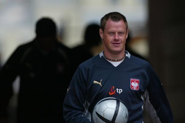 Jacek Krzynówek liczy, że z Anglią wystąpi od pierwszej minuty. Fot. Maciej Śmiarowski /Agencja Przegląd Sportowy