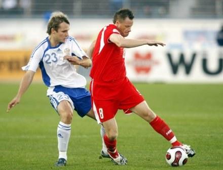 Jacek Krzynówek to najlepszy piłkarz, jakiego Leo ściągnął do Szczecina. /AFP