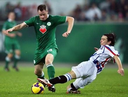 Jacek Krzynówek wrócił do łask w Wolfsburgu? /AFP