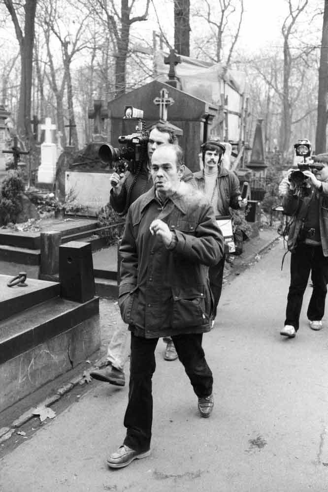 Jacek Kuroń na pogrzebie żony 26.11.1982 r._fot. Wojciech Laski /East News