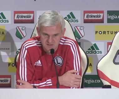 Jacek Magiera: Najwięciej rozmawiamy o Arce. Wideo