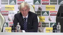 Jacek Magiera po meczu Legia - Szeriff 1-1. Wideo