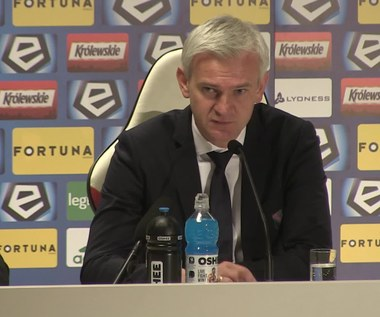 Jacek Magiera po meczu z Koroną Kielce. Wideo