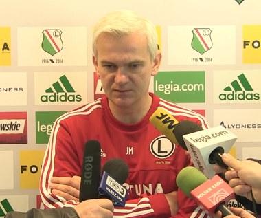 Jacek Magiera przed meczem z Cracovią. Wideo