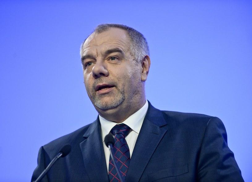 Jacek Sasin jest kandydatem na prezydenta Warszawy /Marcin Obara /PAP