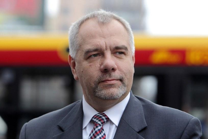Jacek Sasin - kandydat na prezydenta Warszawy /Jan Kucharzyk /East News