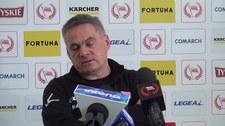 Jacek Zieliński przed meczem z Piastem Gliwice. Wideo
