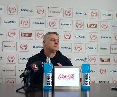 Jacek Zieliński przed meczem ze Śląskiem Wrocław (wideo)