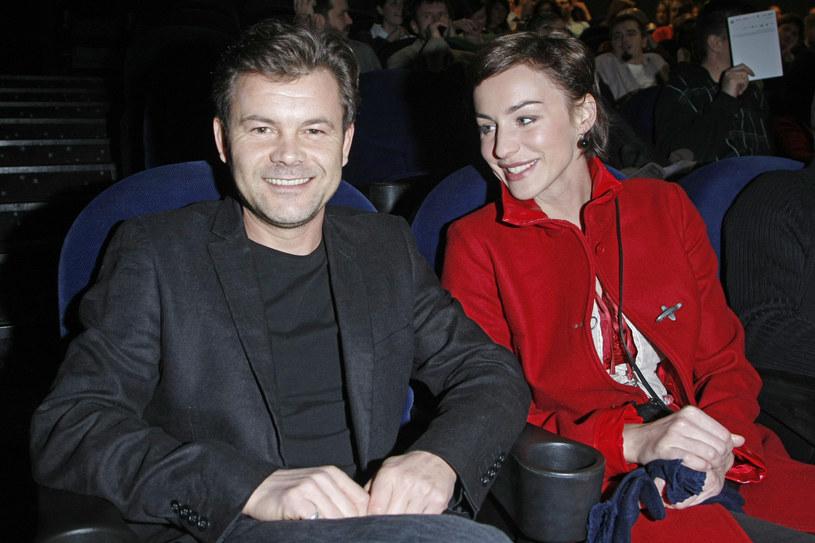 """Jack Braciak i Maja Hirsch na premierze filmu """"Dom zły"""" /AKPA"""