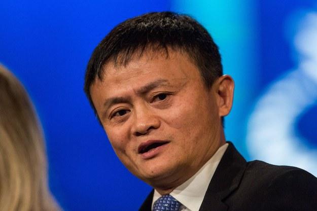 Jack Ma, założyciel największej chińskiej platformy e-commerce Alibaba /AFP