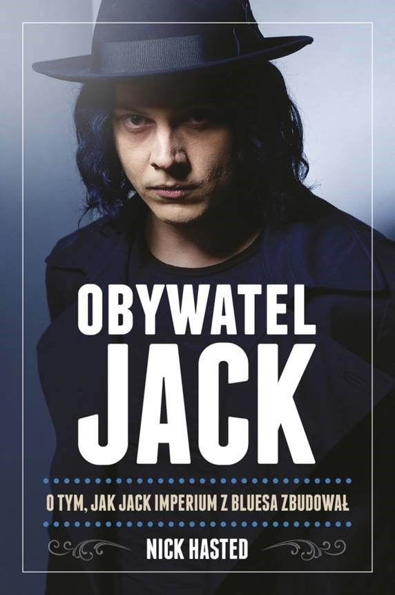 Jack White na okładce swojej biografii /materiały promocyjne