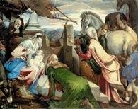 Jacopo Bassano, Adoracja św. Magdaleny, 1560-65 /Encyklopedia Internautica
