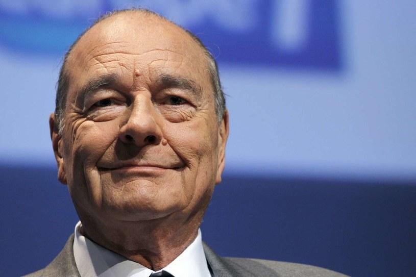 Jacques Chirac, zdjęcie z 2010 roku /AFP