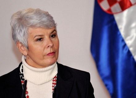 Jadranka Kosor /AFP