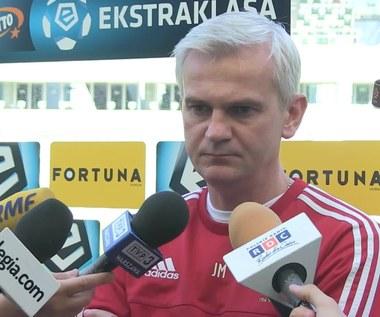 Jagiellonia - Legia. Jacek Magiera przed meczem. Wideo