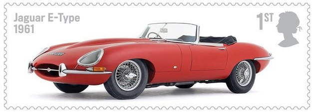 Jaguar E-Type (1961) /Royal Mail