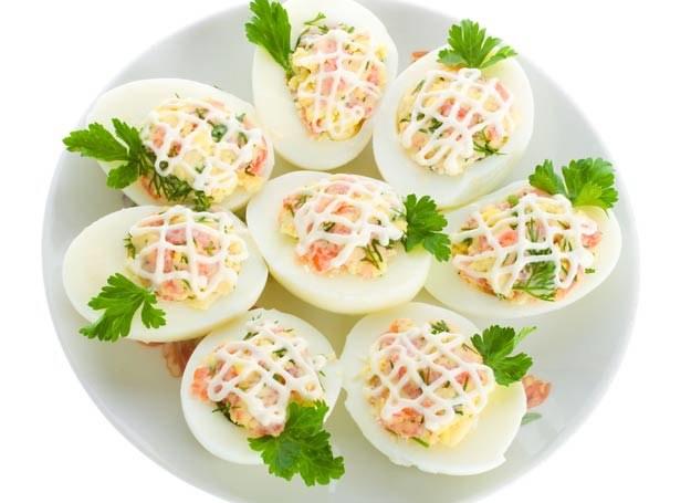 Jajka nadziewane /Picsel /©123RF/PICSEL