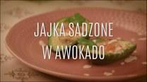 Jajka sadzone w awokado