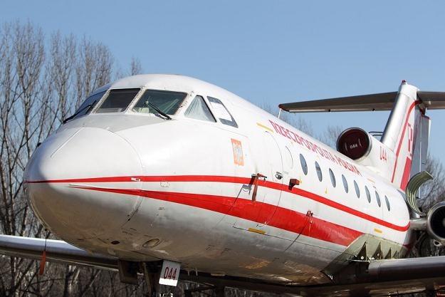Jak-40, fot. Jan Kucharzyk /East News
